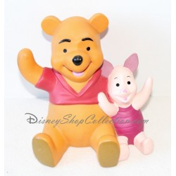 Piggy Winnie the Pooh and Piglet Disney plastic 16 cm