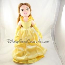 Hermosa DISNEY STORE felpa muñeca belleza y la bestia vestido amarillo 54 cm