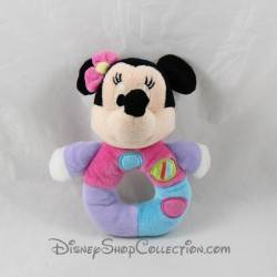 Rattle mouse Minnie DISNEY NICOTOY pink bird bell 16 cm