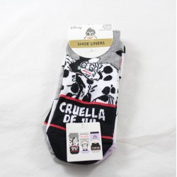 Pair of socks The naughty DISNEY Primark Cruella wicked Queen and Ursula 37-42