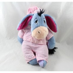 Donkey bourriquet DISNEY NICOTOY pyjama pink tiles vichy 28 cm