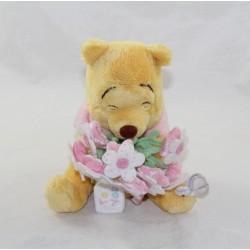 Oso Winnie el Cachorro DISNEY STORE ramo de flores rosas Para ti 18 cm