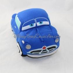 Peluche car Cars NICOTOY Disney Doc Hudson blue car 21 cm