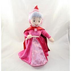 Disney STORE Belleza en el Durmiente Madera Rosa Rojo 38 cm