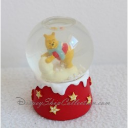 Snowglobe Winnie l'ourson DISNEY boule à neige étoile jaune