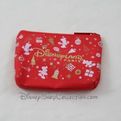 Christmas DISNEYLAND MAGICAL Christmas red Disney wallet