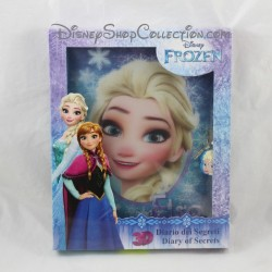Intimate Diary Elsa 3D DISNEY The Snow Queen 128 pages - 24 stickers