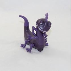 Figurine caméléon Randall Boggs DISNEY MCDONALD'S Mcdo Monstres & Cie violet 28 cm