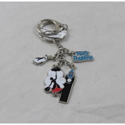 Porta chiave Mary Poppins DISNEYLAND PARIGI Danglers Big Ben pinguino