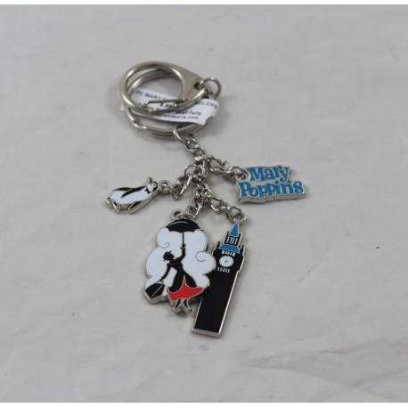Key door Mary Poppins DISNEYLAND PARIS Danglers Big Ben penguin