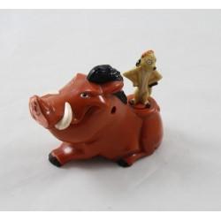 Figura Timón y Pumba MCDONALDS DISNEY El León Rey juguete Mcdo 10 cm