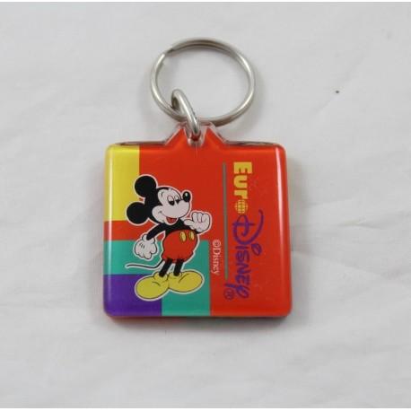 Mickey EURO DISNEY square square vintage blue key holder
