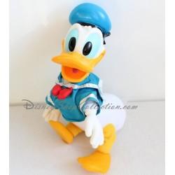 Peluche vintage Donald DISNEY tête en plastique mains pattes ancien 35 cm