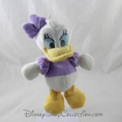 Peluche Daisy DISNEY noeud violet sur la tête 22 cm