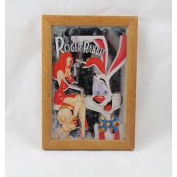 Small mirror Roger Rabbit DISNEY mirror frame Who wants the skin of Roger Rabbit 17 cm