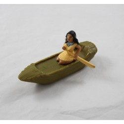 Figure Pocahontas DISNEY Mcdonald's articulated boat 12 cm