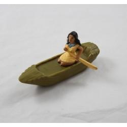 Figurine Pocahontas DISNEY Mcdonald's barque articulée 12 cm