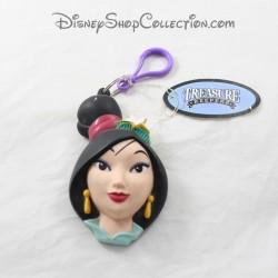 Porte clés tête Mulan APPLAUSE Disney porte monnaie plastique 13 cm