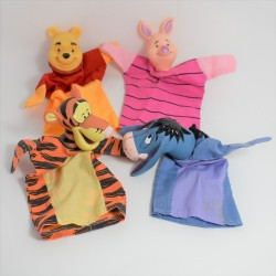 Marionnette à main Tigrou DISNEY Winnie l'ourson orange 25 cm
