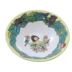 Small hollow plate The jungle book DISNEY ARCOPAL Mowgli Baloo Kaa Sherkan Bagheera ceramic bowl