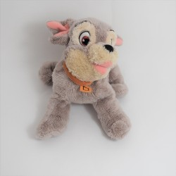 Peluche Dog Scamp DISNEY NICOTOY Beauty and the Tramp 24 cm