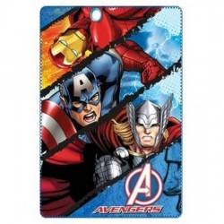 Plaid polaire super héros MARVEL Avengers Iron Man, Captain America et Thor 145 cm