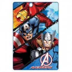 Supereroe polare plaid MARVEL Avengers Iron Man, Capitan America e Thor 145 cm