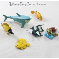Figures The World of Nemo DISNEY batch of 6 plastic fish figurines