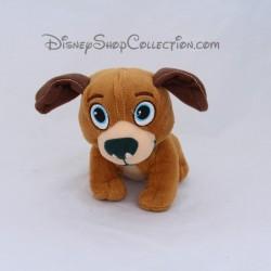 Cachorro de perro Vito DISNEY Doctor la felpa marrón 13 cm