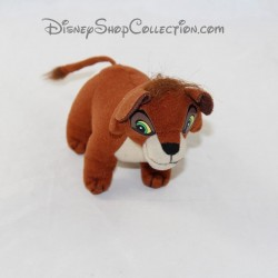 Peluche lion Kovu McDONALD'S Disney Le Roi Lion marron Mcdo 13 cm