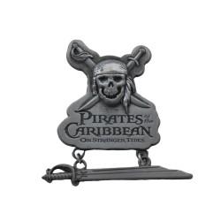 Pin's Pirates des Caraïbes DISNEYLAND PARIS tête de mort pin trading 2011