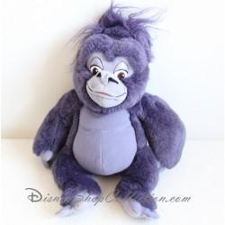 Peluche interactive singe Tok DISNEY MATTEL Tarzan violet 34 cm