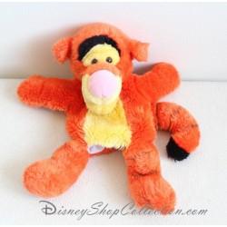 Peluche marionnette Tigrou DISNEY STORE tigre orange ami Winnie l'Ourson 29 cm