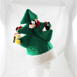 Bonnet de Noël sapin DISNEYLAND PARIS adulte Mickey et ses amis vert Disney