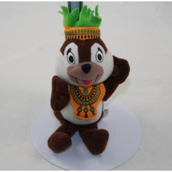 Squirrel towel Tic and Tac McDONALD's Disney brown 2000 crown 15 cm