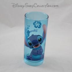 Stitch DISNEYLAND PARIS Lilo vidrio y Stitch cristal azul disney top 14 cm
