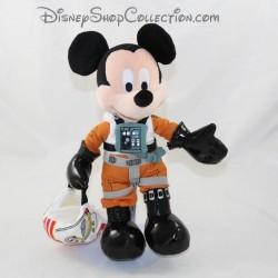 Mickey cub disfrazado de piloto DISNEY Star Wars X-wing 29 cm