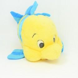 Disney Polochon Pescado La Pequeña Sirena Amarilla Azul 33 cm