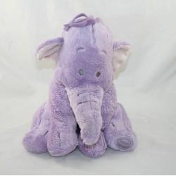 Elephant CubEd Lumpy DISNEY STORE purple crest Winnie the Disney Pooh 30 cm