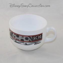 DISNEY dog bowl The 101 black white dalmatians big mug 9 cm