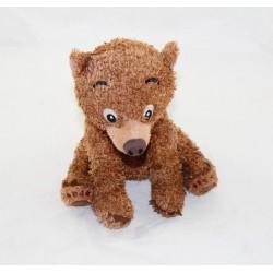 Peluche Koda ours DISNEY STORE Frère des Ours marron bouclé 14 cm