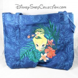 CANVAS bag DISNEYLAND PARIS Fairy Blue Tinker Disney 35 cm