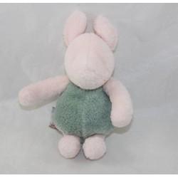 Peluche cochon Porcinet DISNEY GUND Classic Pooh vert rose 15 cm