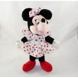 Minnie CHAQUETA DISNEY aplausos vintage vestido blanco rojo lunares 34 cm