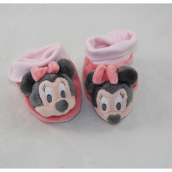 Baby Slippers Minnie DISNEY BABY pink 0-3 months