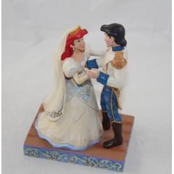 Figura Ariel y su Príncipe DISNEY TRADITIONS Jim Shore Showcase Boda La Sirenita