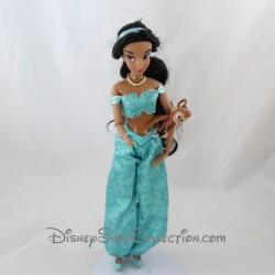 Muñeca modelo Jasmine DISNEY STORE articulada Aladdin princesa 30 cm