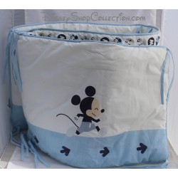 Disney baby bed tower Mickey and his friends white blue