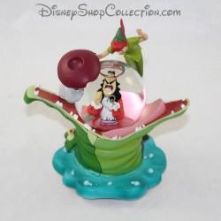 Bola de gancho de capitán de barco de SnowGlobe Peter Pan DISNEY nieve 11 cm