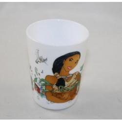 Pocahontas DISNEY ceramic Cup 8 cm white glass